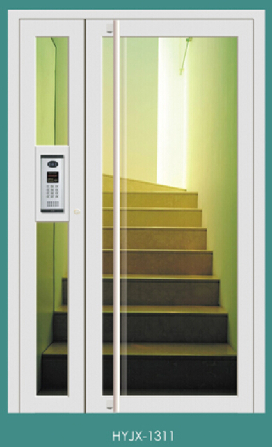 透明式楼宇对讲门