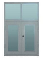 不透明式钢制窗